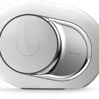 La Phantom, l'enceinte-ampli connectée ultra-compacte conçue par Devialet est commercialisée depuis 2015 dans les Apple Store. Crédit: D.R