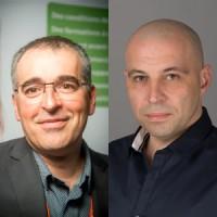 Philippe Villain, le gérant de Wavesoft, et Nicolas Mouly, le responsable commercial d'ILLAM Informatique.