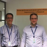 Stephan Hadinger (à droite) et Julien Lepine, tous deux en charge des architectures solutions d'AWS sont revenus sur plusieurs annonces de l'évènement re:Invent 2016.