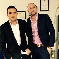 Christophe Hirth (à gauche) et Laurent Ehrhart, ont co-fondé Leadeo en 2009 et en sont maintenant les directeurs associés.