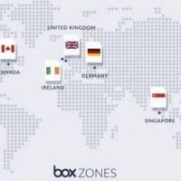 Carte de couverture des zones de disponibilités de Box à l'échelle mondiale. (crédit : Box)