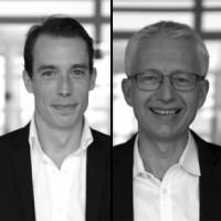 Antoine Maurice (à gauche) et Thierry Lebrun sont respectivement les nouveaux directeurs des ventes et directeur des opérations de Digitim. Crédit photo : D.R.