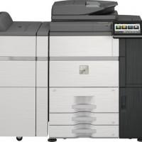 Le MFP A3 Sharp MX6580NEU imprime à la vitesse de 65 PPM et scan à celle de 200 images par minutes.
