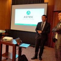 Julien Gavaldon, le président d'Astek était venu rencontrer les collaborateurs d'Axones pour leur présenter l'opération de rachat.