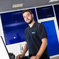 Pierrick Gaub exploitera en franchise le futur magasin de LDLC situé près de Strasbourg. Crédit photo : D.R.
