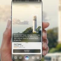Un projet d'iPhone taillé pour la réalité augmentée imaginé par le designer hongrois Gabor Balogh. (Crédit Gabor Balogh)