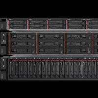 (De haut en bas) Les ThinkAgile VX 3000, 5000 et 7000 de Lenovo embarquent nativement la solution vSAN de VMware et en option vSphere afin de simplifier le déploiement des infrastructures de datacenter hyperconvergé. (crédit photo : Lenovo)