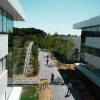 Le siège de LDLC se compose maintenant de trois bâtiments installés dans un hectare de verdure, à l'ouest de Lyon. (crédit photo : LDLC)