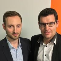 Quentin Theuret (à droite) dirige le centre de services ERP d'Amaris sous la houlette de Sébastien Piaton, directeur du directeur du bureau strasbourgeois de la société de conseil. (Crédit photo : Amaris)