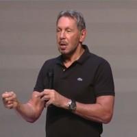 Juste avant OpenWorld 2017, Larry Ellison, CTO et chairman exécutif d'Oracle, fait une annonce marquante sur ses offres cloud. (crédit : D.R.)