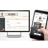 Hunterz s'articule autour de trois briques dont un module destinés aux personnels RH et une apps mobile permettant aux salariés de suivre les candidats qu'ils cooptent.