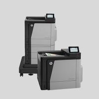 Les HP Color LaserJet Enterprise M651 sont concernées par les vulnérabilités découvertes par les experts en sécurité. (Crédit HP)