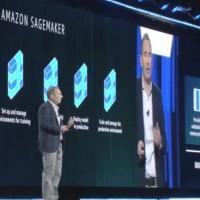 Dans son service SageMaker, AWS va proposer un choix d'algorithmes d'apprentissage machine déjà réalisés, a expliqué son CEO Andy Jassy sur Re:invent à Las Vegas. (crédit : D.R.)