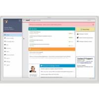 Capture d'écran de la solution de centre de support client Ivanti Help Desk.