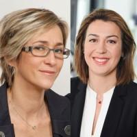 Adeline Icard (à gauche), directrice marketing et Carla Gomes, directrice des opérations intègrent Intersystems France pour renforcer la visibilité de ses trois marchés principaux : la santé, l'IoT et le retail (Crédit : Intersystems)