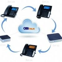 Racheté par Polycom, Obihai Technologies commercialise des terminaux VoIP reliés entre eux à travers son portail Obitalk (ci-dessus les modèles Obi 200, 202 et 1000).