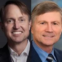Greg Hughes (à droite) était déjà passé par Veritas. Bill Coleman conserve une place au conseil d'administration du fournisseur (Crédit : D.R.)