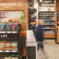 La technologie « Just Walk Out Shopping experience » utilise une combinaison d'apprentissage machine, de surveillance informatique, de capteurs et de deep learning. (Crédit : Amazon)
