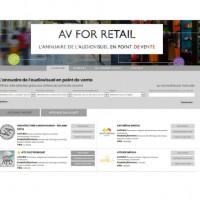 L'annuaire AV FOR RETAIL est également disponible au format papier.