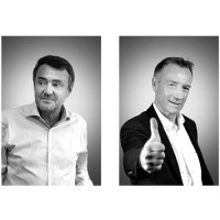 Sylvain Lejarre (à gauche) devient directeur de l'agence « digital » et Thierry Deschâtres dirigera celle consacrée aux « expertises » d'Alter Way. (Crédit : Alter Way)