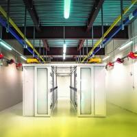 D'une surface de 144 m², la salle du datacenter peut accueillir 52 baies de type Conteg 48U. (Crédit : D.R.)
