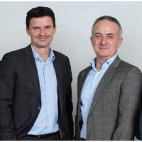 Mathieu Le Treut (à gauche), le nouveau directeur général de CIS Valley, aux côtés d'Alain Cadot, le président de l'ESN.