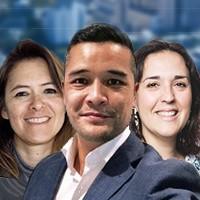 Marie Blanchet (à gauche), Laurent Nguyen et Carmen Pepin sont les nouveaux channel managers de Nutanix France.