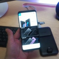 Le Galaxy S9 est un smartphone agréable à prendre en mains et se montre particulièrement réactif. (crédit : D.F.)
