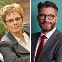 Catherine Oudot arrive de chez Malwarebytes et Bertrand Trastour était précédemment directeur des ventes « Grands comptes » pour la France chez Kaspersky Lab. (Crédit : Kaspersky Lab)