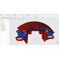 L'interface de la version 5.0 du logiciel Creo a été aussi revue par PTC. (Crédit : PTC)