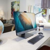 De type tout-en-un, le Dell Optiplex 7760 vient alléger l'empreinte informatique sur le bureau. (Crédit Dell)