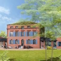 Sur le campus Eurécia, 1 300 m2 seront dédiés aux bureaux, conçus dans le respect des standards environnementaux et pour favoriser l'expérimentation de nouveaux modes de travail.