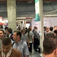 Au premier jour de l'événement AIParis 2018, plus de 1 000 visiteurs étaient déjà au rendez-vous dès le début de la matinée. (crédit : AI Events)
