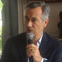 Godefroy de Bentzmann, président de Syntec Numérique a levé le rideau sur les chiffres du secteur numérique et IT en France à l'occasion de la conférence semestrielle du syndicat jeudi 14 juin 2018. (crédit : D.F.)