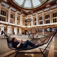 Les équipes de Devoteam rejoignent l'espace de coworking du Palais de la Bourse à Lille. (Crédit : Devoteam)