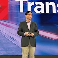 « Nous sommes une compagnie globale avec des capacités de fabrication en Chine, au Brésil et au Mexique, c'est pourquoi Lenovo est différent des autres fournisseurs chinois », a assuré Yang Yuanquing le CEO du fournisseur chinois. (Crédit S.L.)
