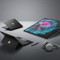 Microsoft a lancé le 2 octobre 2018 la Surface Pro 6 aux côtés de Surface Studio 2 et de Surface Laptop 2. (crédit : Microsoft)