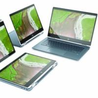 De type deux-en-un, le Chromebook x360 ce HP se positionne sur le segment premium comme le Google Pixel. (Crédit HP)
