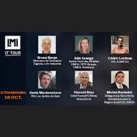 Les intervenants de l'IT Tour Strasbourg du 18 octobre 2018 qui se déroulera à la CCI. (Crédit : LMI)