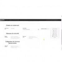 web-DPO va permettre notamment d'élaborer des formulaires de déclaration personnalisés. (Crédit : Prologue Numérique)