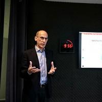 Le CTO de Vantiq, Paul Butterworth, était présent en France pour présenter le nouvel outil de l'éditeur. (Crédit : Nicolas Certes)