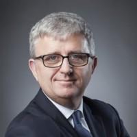 Jean-Michel Baticle, président de CGI pour l'Europe de l'Ouest et du Sud a présenté les résultats de l'année fiscale 2018. (Crédit Photo : CGI)