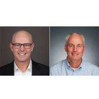 Art Gilliland (à gauche), vice-président des produits entreprise chez Symantec et son homologue chez Fortinet, John Maddison, veulent par ce partenariat proposer une offre complète de sécurité sur le cloud, le réseau et les terminaux. (Crédits : D.R.)