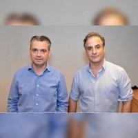 Xavier Sourroubille (à gauche) et Laurent Chancholle co-gèrent Cybertek. (Crédit : Cybertek)