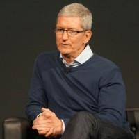 Malgré la révision à la baisse de son chiffre d'affaires, Tim Cook estime qu'Apple va clore son 1er trimestre fiscal sur une trésorerie nette de 130 Md$. (Crédit : Blair Hanley Frank)