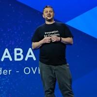 Lors de l'OVH Summit 2018, Octave Klaba avait annoncé refondre l'organisation de son entreprise en quatre divisions afin de clarifier l'offre d'OVH. (Crédit : Nicolas Certes)
