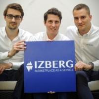 Les trois cofondateurs d'Izberg (de gauche à droite) Benoît Feron, Florian Poullin et Luc Falempin vont rejoindre la direction Solutions du groupe de services IT Open. (Crédit : D.R.)