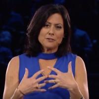 « Nous nous concentrons autant sur la vente de solutions tierces que sur la vente de nos solutions », a fait savoir Gavriella Schuster, vice-présidente corporate One Commercial Partner (OCP) de Microsoft. (crédit : Microsoft)