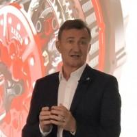 CEO de Dassault Systèmes, Bernard Charlès maintient le cap sur l'innovation, notamment à destination des PME-PMI. (Crédit : S.L.)