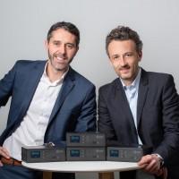 David Coiron et Sébastien Wild ont lancé leur entreprise en 2014 dans la région lyonnaise. Aujourd'hui, leurs routeurs packagés équipent environ 300 clients. (Crédit : Icow)